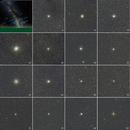 Globulars in Opiuchus, Scorpio, Sagittarius and Capricornus,                                petelaa