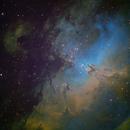 M16 - Eagle Nebula (SHO),                                Janco