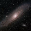Messier 31 - Andromeda Galaxy,                                Mark Spruce
