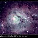 M8, Lagoon Nebula, UHC-S,                                David Dearden