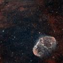 NGC6888 - The Crescent Nebula,                                Mike S