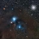 Corona Australis star forming region  (NGC 6726, 6727, 6729) & Globular cluster NGC 6723,                                herwig_p