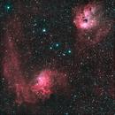 IC405 - Flaming Star Nebula and NGC 1893,                                Nigel