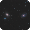 NGC5363 and NGC5364 LRGB,                                Christopher Gomez