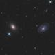 NGC5363 and NGC5364 LRGB,                                Christopher Gomez