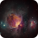 Messier 42 The Orion Nebula,                                Jim