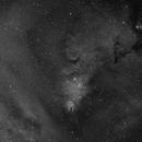 NGC 2264 Cone Nebula in Ha,                                equinoxx