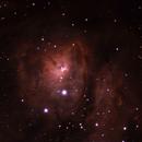 M8, The Lagoon Nebula,                                Roman Pierce