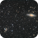 Stephen's quintuple NGC7320,7318,7319 and NGC7331,                                bawind Lin