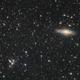 Stephen's quintuple NGC7320,7318,7319 and NGC7331,                                bawind Lin