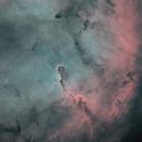 Elephant's Trunk Nebula HOO Starless,                                Abraham Jones