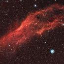 NGC 1499-DSLR-Ha,                                Lensman57