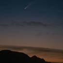 Neowise Comet,                                C.A.L. - Astroburgos