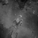 M16 - Eagle Nebula H-alpha,                                Matthew