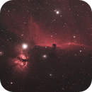 Horsehead/Flame Nebula,                                John Kroon