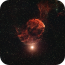 IC 443 The Jellyfish Nebula in HOO,                                Jürgen Ehnes