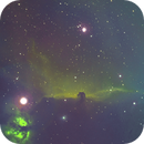 IC 434 Horse Head Nebula-NGC 2024 Flame Nebula-SHO-Meade 80 ED triplet-Orion flattener-ASI 1600-MM-Pro,                                Adel Kildeev