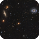 NGC 4535, NGC 4526 Galaxies,                                Jerry Macon
