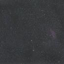M45 and California Nebula with wind up tracker,                                Rob Farmiloe
