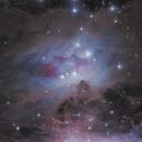 Running Man Nebula,                                Morris Yoder