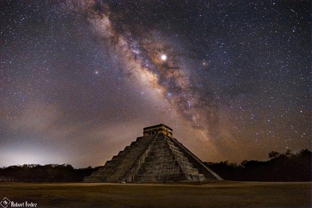 Chichen Itza at Night,                                Robert Fedez