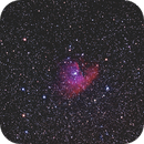 NGC281 Pacman nebula  ( unguided ),                                Jean-Marie MESSINA