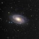 Bode 's Galaxy - M81 in  LHaRGB,                                Arnaud Peel