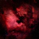 North America Nebula,                                gapergap