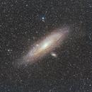 Andromeda Galaxy at 200mm,                                Poochpa