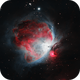 Orion in Narrowband with natural color palette,                                andevellicus