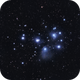 M45 The Pleiades LRGB,                                Wilson