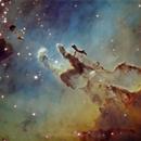 M16 The Eagle Nebula,                                Tim Jardine