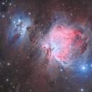 M42-la nébuleuse d'orion,                                astromat89