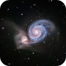 M51 Whirlpool Galaxy LRGB,                                llolson1