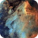 Pelican Nebula, IC 5070, Hubble Palette,                                Eric Coles (coles44)