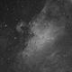 M16 Hα first light,                                antares47110815