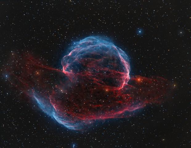 Sh2-224 Supernova remnant,                                Wissam Ayoub
