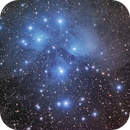 M45 Pleiades Nebula,                                northwolfwu