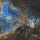 IC1805 & IC1795 (2 panels mosaic),                                Kesphin