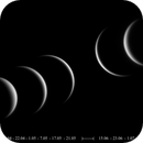 The phases of Venus, or the changing face of the Evening Star and the Morning Star - 2020,                                Loxley