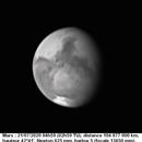 MARS 21 07 2020 4H59 NEWTON 625 MM BARLOW 5 FILTRE IR742 100% LUC CATHALA,                                CATHALA Luc