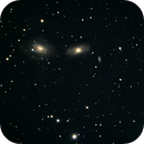 NGC3165, 3166 and 3169,                                Blue