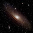 M31 (Andromeda) LRGB,                                Brian Poole