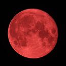 Full (red) Moon,                                Lukas Šalkauskas