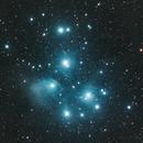 M45 - The Pleiades,                                John Watson