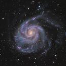 M101~Pinwheel Galaxy,                                Fluorine Zhu
