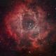 Valentine's Rosette Nebula,                                Brett Creider