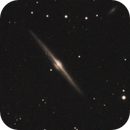 ngc 4565 of 2014 with a modded Canon 600d, an Acuter 90 900ed on top of a GPDX - no filter used,                                Stefano Ciapetti