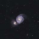 M 51 Galaxy,                                Greg Ray
