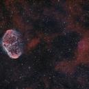 NGC6888 The Crescent Nebula,                                Peter Goodhew